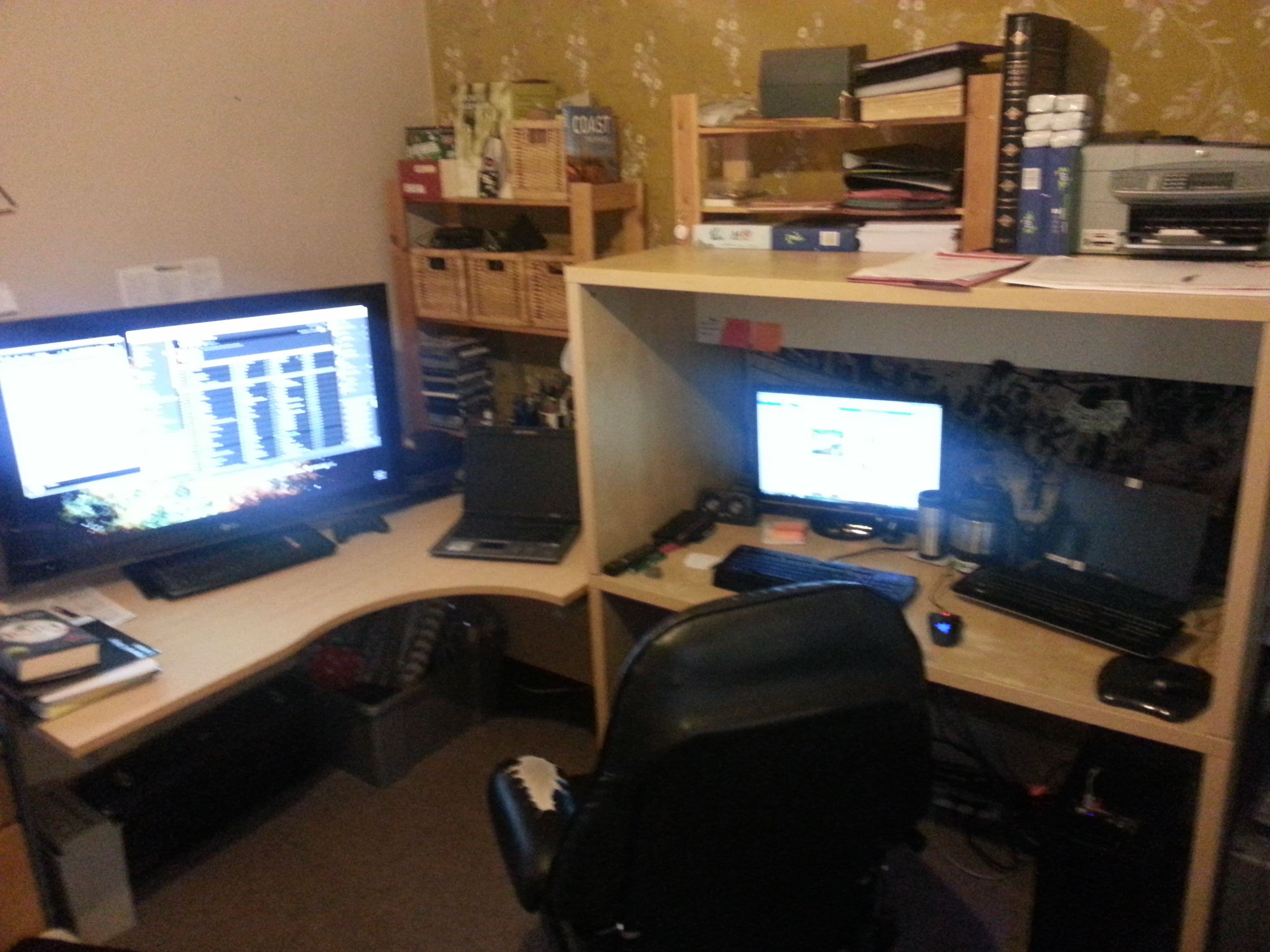 Office setup win agitated seabass for Office configuration